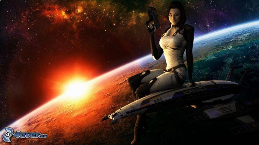 Mass Effect 3, Sonnenuntergang