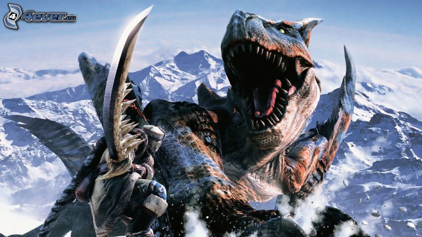 Monster Hunter, Dinosaurier