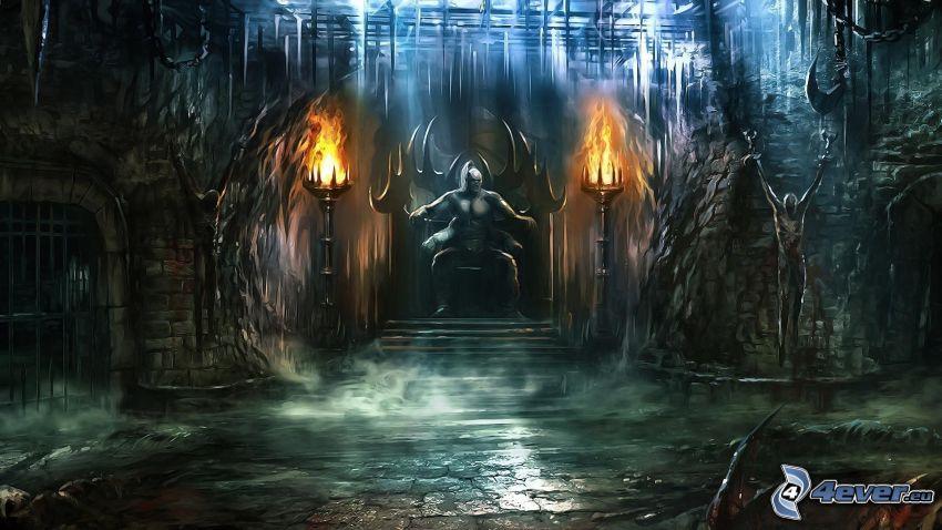 Mortal Kombat, Herrscher, Thron