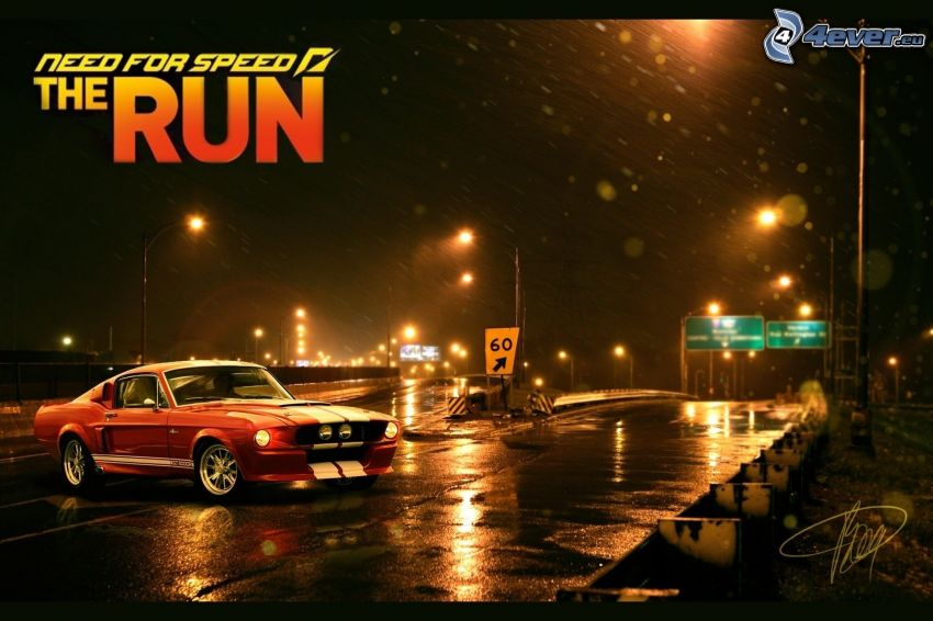 Need For Speed, Ford Mustang