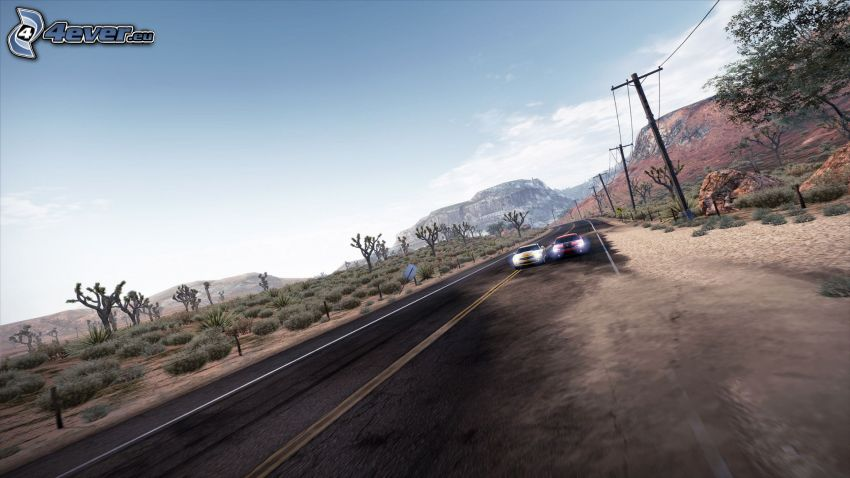 Need for Speed: Hot Pursuit, Straße