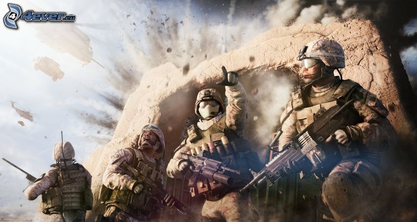 Operation Flashpoint: Red River, Soldaten