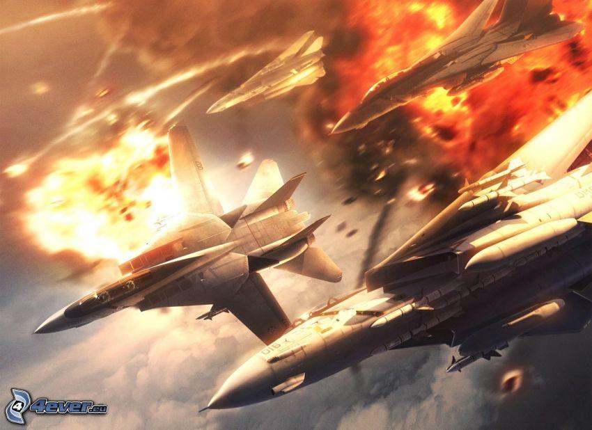 PC-Spiel, Jagdflugzeuge