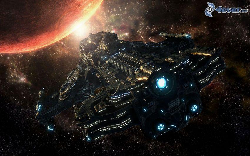 StarCraft 2, Raumschiff