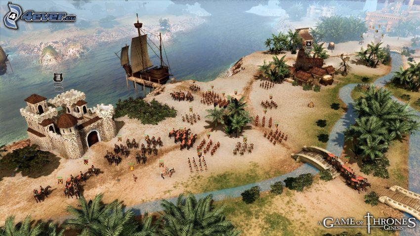A Game of Thrones, Genesis 2
