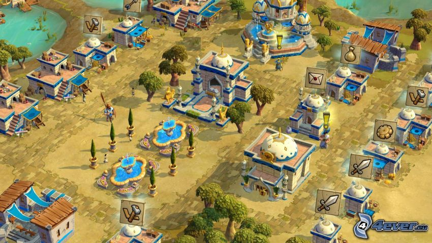 Age of Empires, online