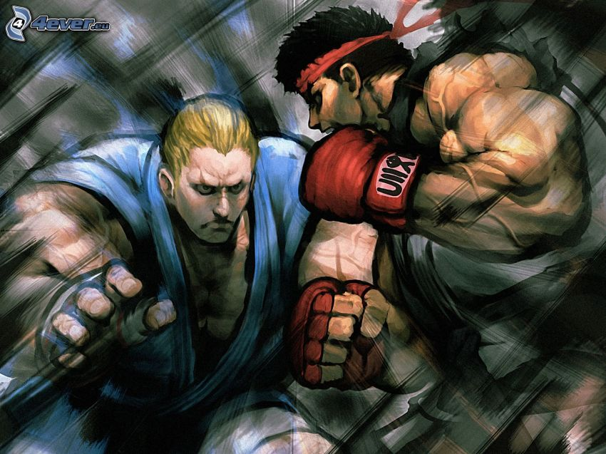 Street fighter, Boxen