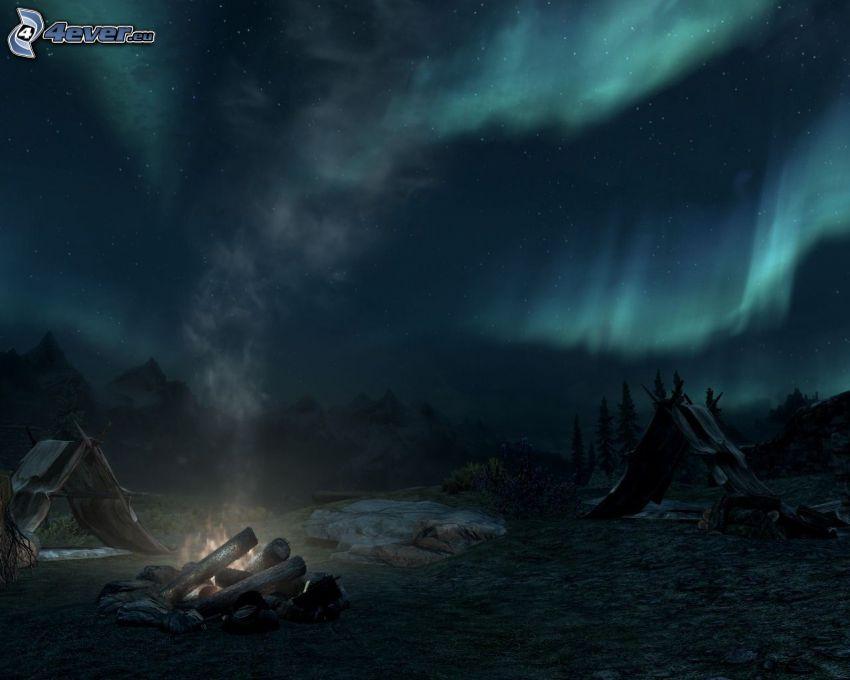 The Elder Scrolls Skyrim, Polarlicht