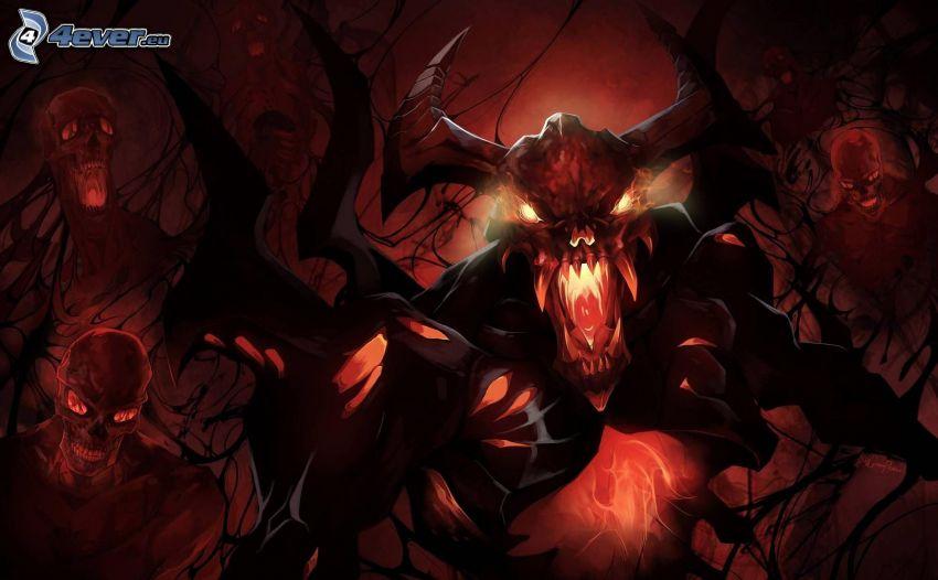 Warcraft 3, Dämon