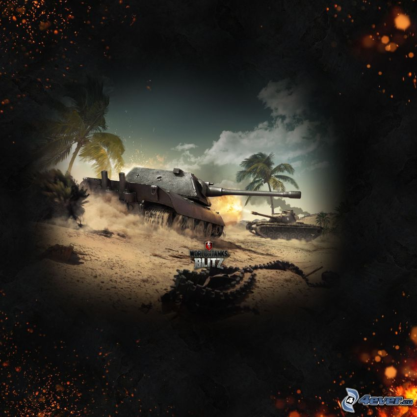 World of Tanks, Panzer, Sand