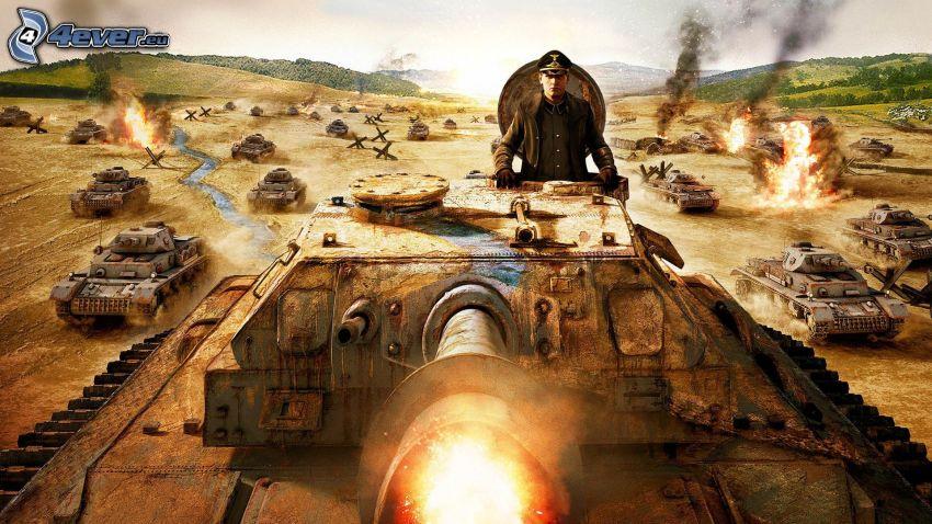 World of Tanks, Panzer, Wehrmacht