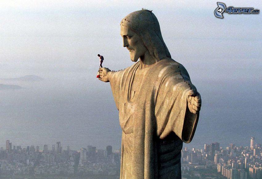 BASE Jump, Jesus in Rio de Janeiro