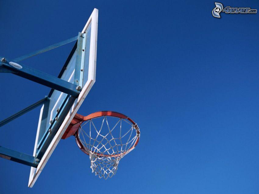 Basketballer Korb