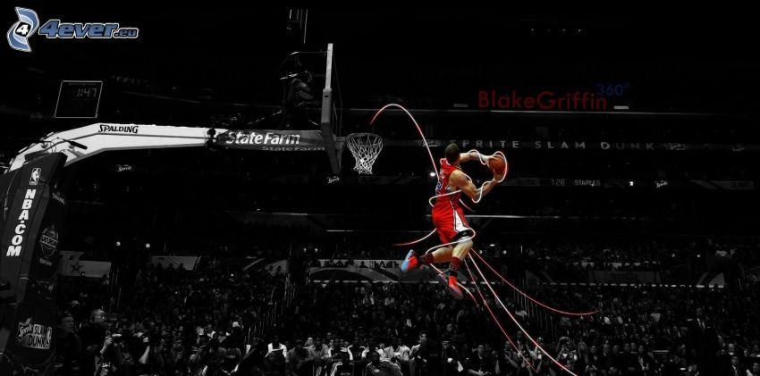 Basketballspieler, Photoshop
