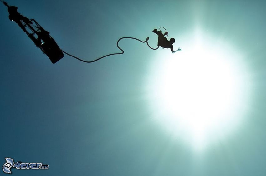 Bungeespringen, Sonne