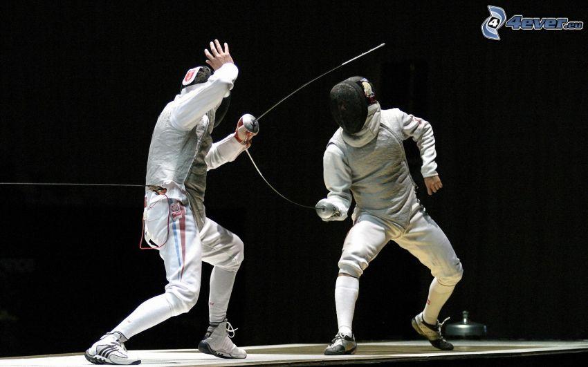 Fechten, Schwertkämpfer