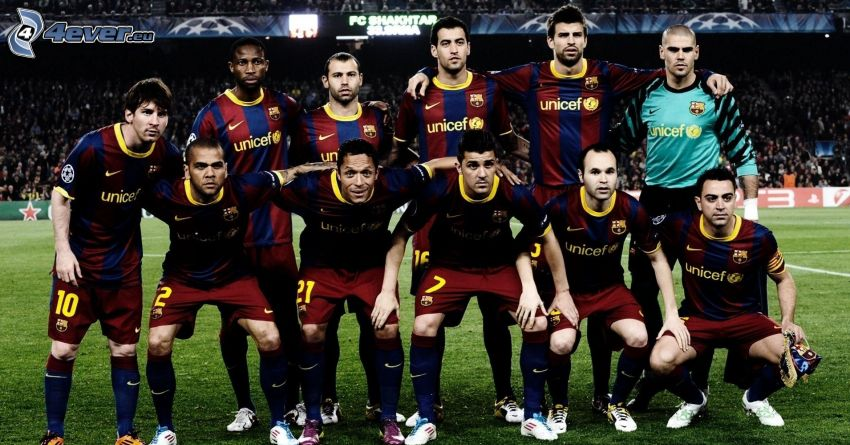 FC Barcelona, Fußballteam