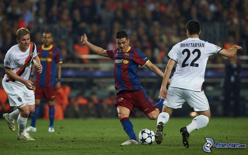 FC Barcelona vs. Real Madrid, Fußball