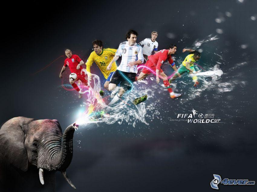 FIFA world cup, Südafrika