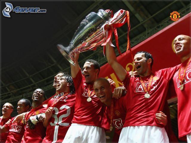 Fußballer, Manchester United, Cup