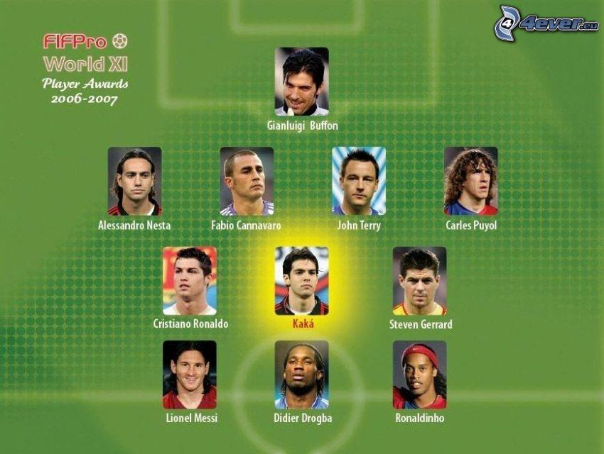 Fußballer, Spieler