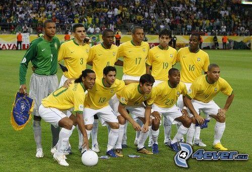 Fußballteam, Stadion, Brasilien