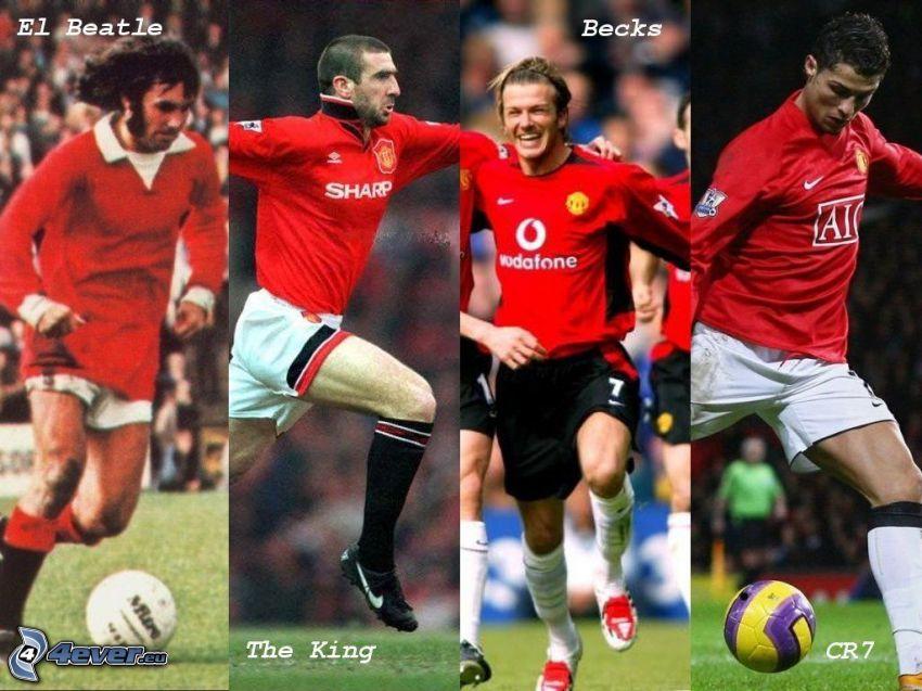 Manchester United, Fußballer