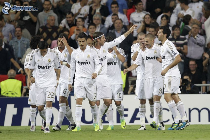 Real Madrid, Fußballteam