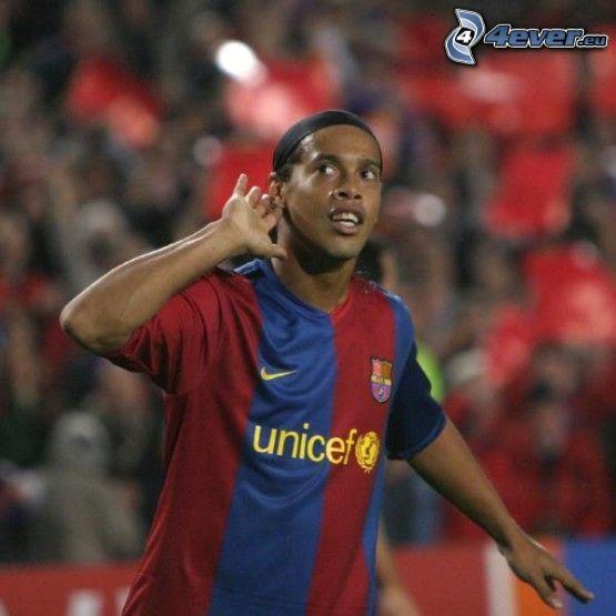 Ronaldinho, FC Barcelona, Fußball