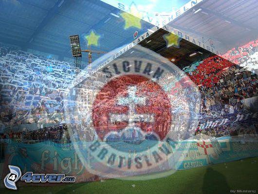 Slovan, Emblem, logo, Stadion