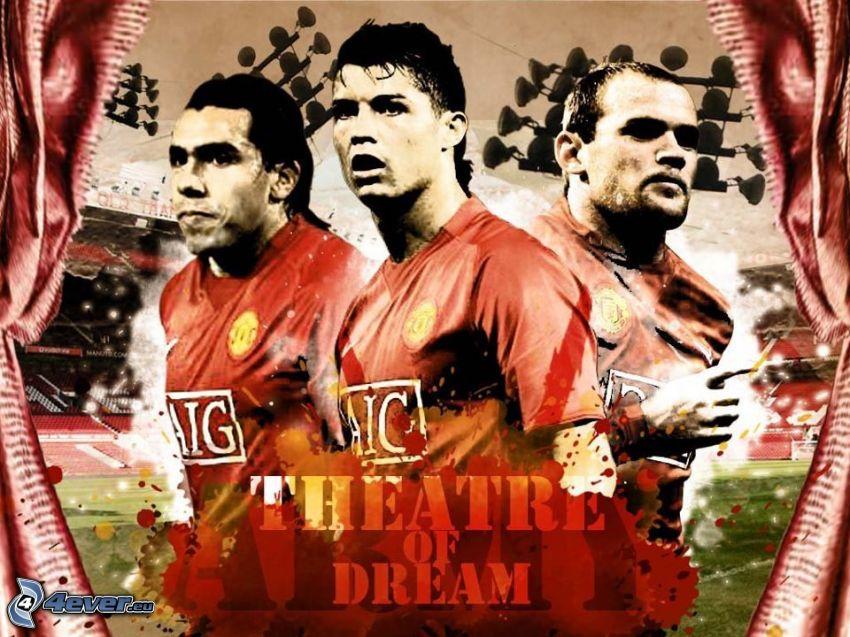Theatre of Dream, Fußballer, Cristiano Ronaldo, Manchester United