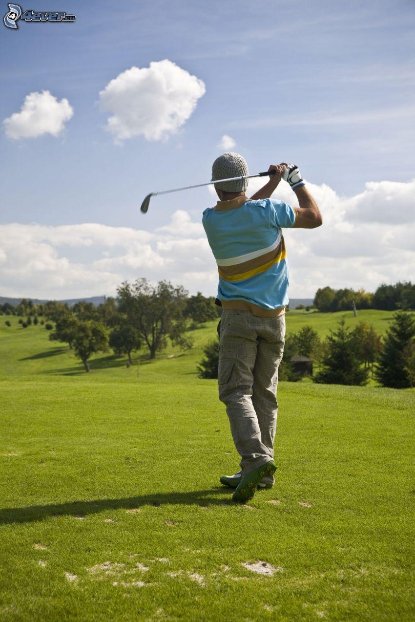 golf, Golfspieler