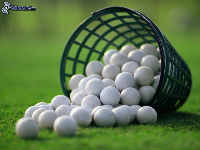 Golfbällen