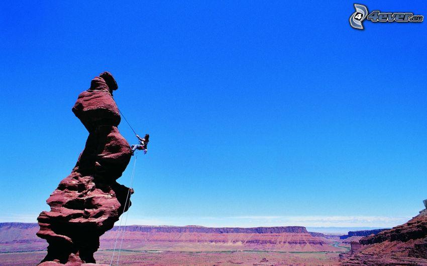 Kletterer, Felsen