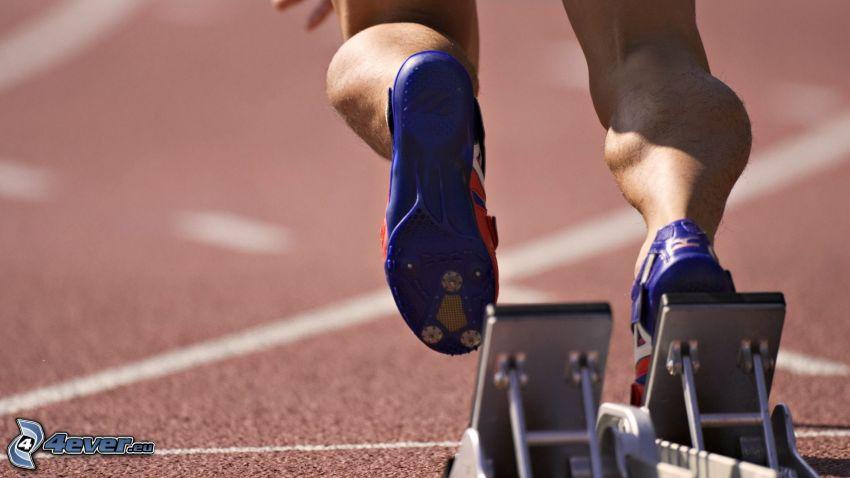 Läufer, Beine