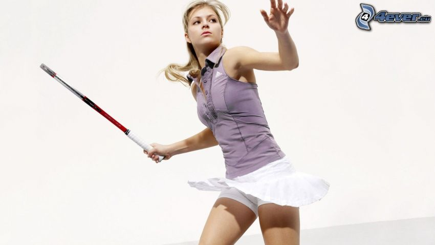 Maria Kirilenko, Tennisspielerin, Tennisschläger