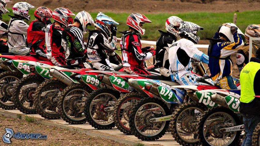Motorräder, motocross
