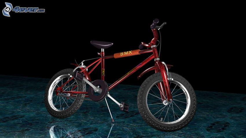 BMX, Fahrrad