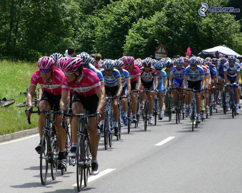Tour De France, Radfahrer, bike