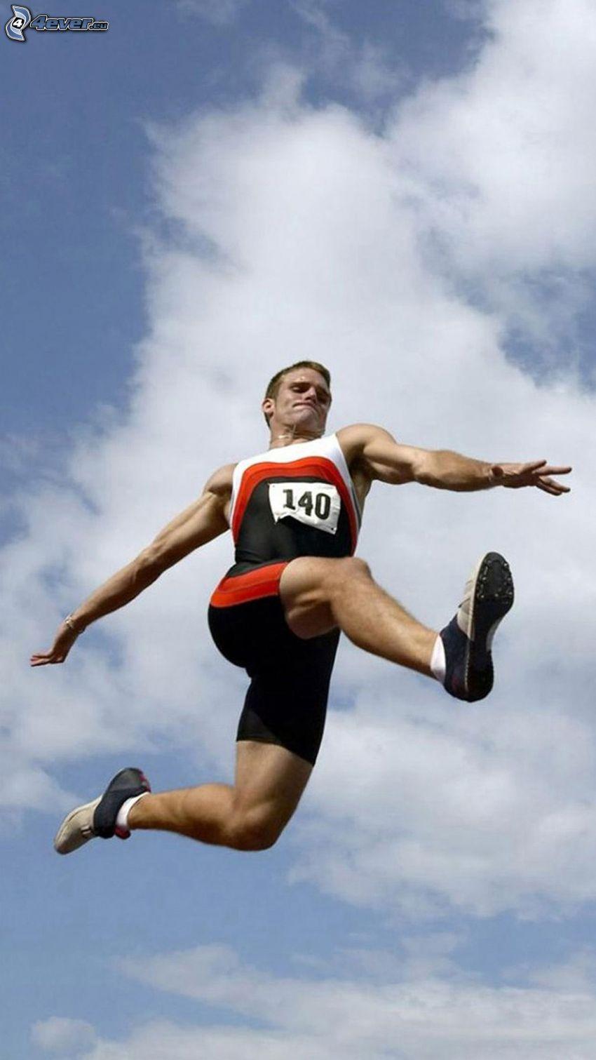 Sprung, Sportler