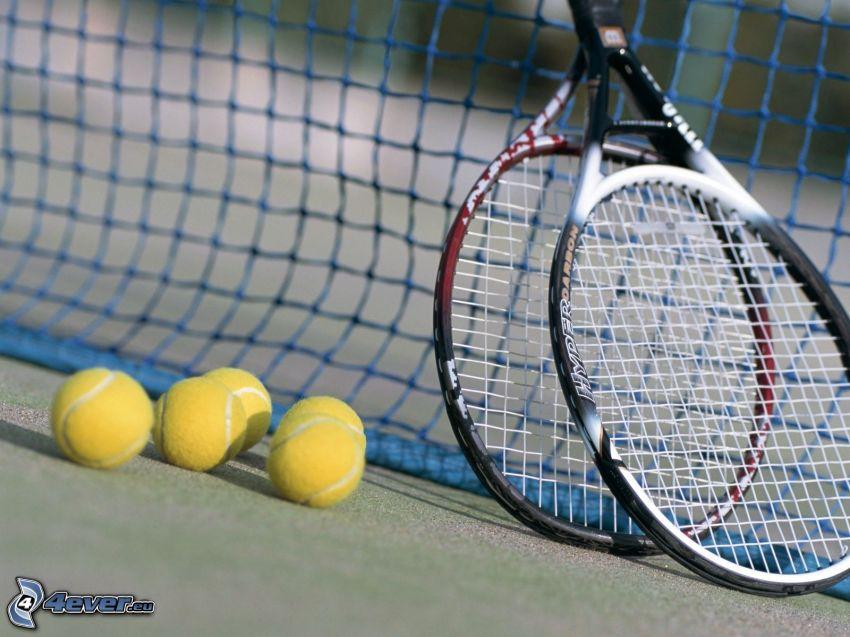 Tennis, Kugel, Schläger