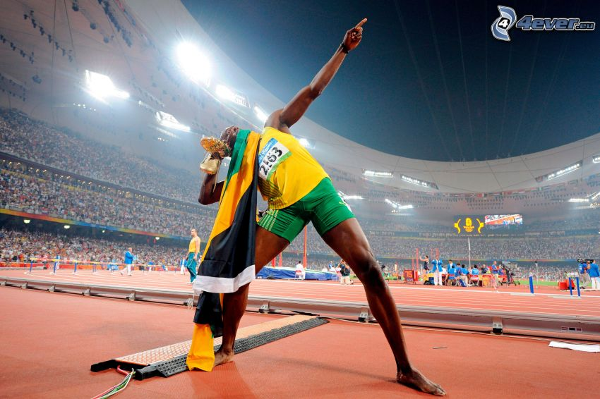 Usain Bolt, Läufer
