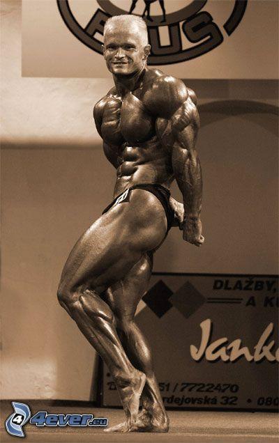 Vladimír Flimel, bodybuilding, Mann, Muskeln