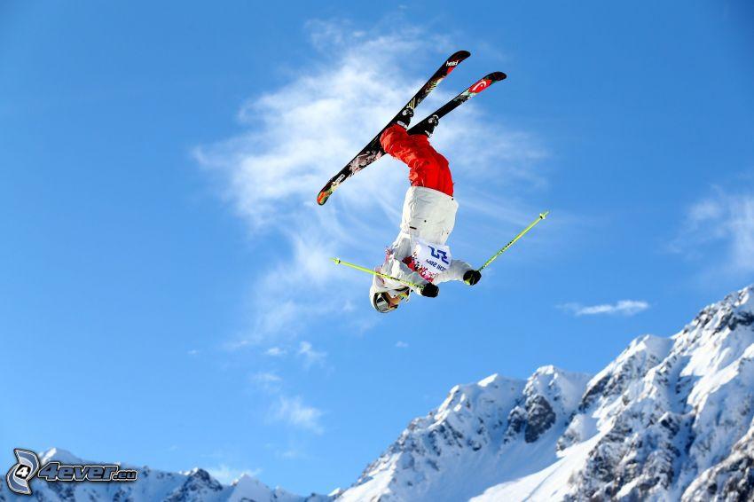 Skisprung, Extrem-Skifahren, Akrobatik