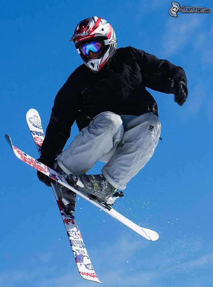 Skisprung, Extrem-Skifahren