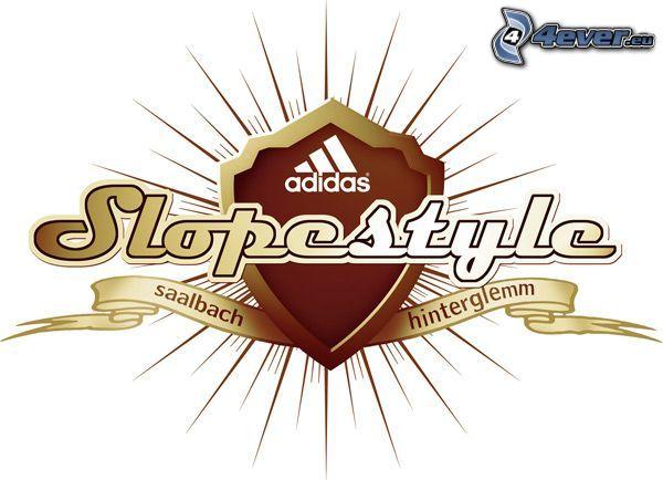 Adidas Slopestyle, logo