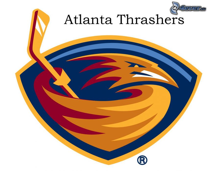Atlanta Thrashers, Hockey, logo