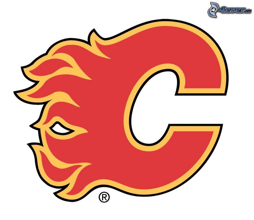 Calgary flames, NHL, logo