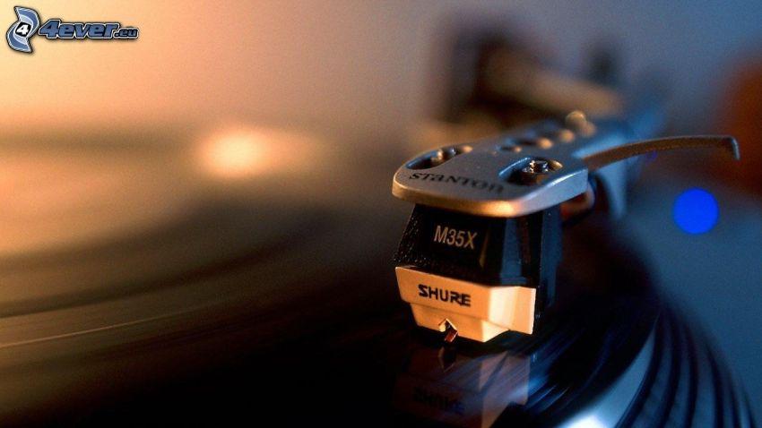 Grammophon, Schallplatte