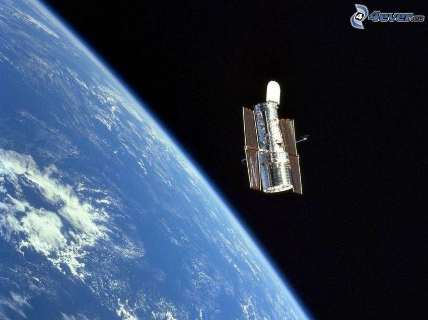 Hubble-Weltraumteleskop, Erde